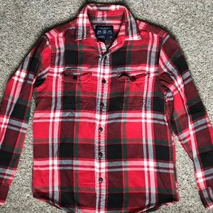 American Eagle Flannel - Long Sleeved